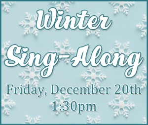 winter singalong graphic
